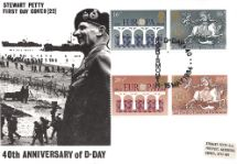 15.05.1984 Europa 1984 40th Anniversary of D-Day Stewart Petty