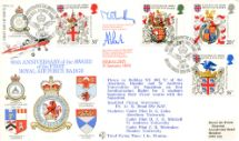 17.01.1984 Heraldry Royal Air Force Badge Forces, RFDC No.24