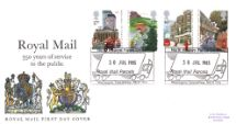 30.07.1985 The Royal Mail Royal Arms Royal Mail/Post Office