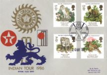 20.05.1986 Species at Risk Indian Tour 1986 Stamp Publicity