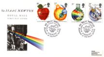 24.03.1987 Sir Isaac Newton Refraction of Light Royal Mail/Post Office