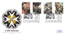 16.06.1987 St. John Ambulance Brigade Badge Royal Mail/Post Office