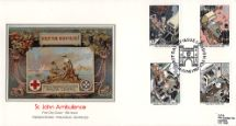 16.06.1987 St. John Ambulance Help the Wounded Pres. Philatelic Services