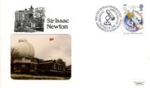 24.03.1987 Sir Isaac Newton The Old Royal Observatory Pilgrim