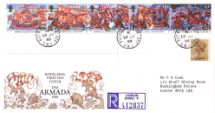 19.07.1988 Spanish Armada CDS & Slogans Royal Mail/Post Office