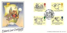 06.09.1988 Edward Lear: Stamps The Owl and the Pussycat Bradbury, LFDC No.71