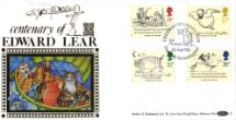 06.09.1988 Edward Lear: Stamps The Owl and the Pussycat Benham, Gold (500) No.35