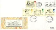 06.09.1988 Edward Lear: Stamps Slogan Postmarks Royal Mail/Post Office