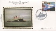 10.05.1988 Transport RMS Queen Elizabeth Benham, 1988 Small Silk No.14