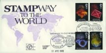 11.04.1989 Anniversaries Stampway to the World Official Sponsors