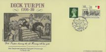 07.04.1989 Dick Turpin 250th Anniversary Bradbury