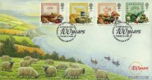 07.03.1989 Food & Farming Ministry of Agriculture Centenary CoverCraft