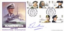 27.08.1989 Mountbatten Training With Maritime Stamps Bradbury
