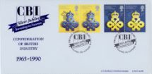 10.04.1990 Queen's Awards to Industry Conf. of British Industry (CBI) Bradbury, LFDC No.86