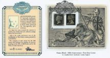 03.05.1990 Penny Black: Miniature Sheet Jacobs Perkins Security Printers CoverCraft
