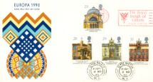 06.03.1990 Europa 1990 Slogan Postmarks Royal Mail/Post Office