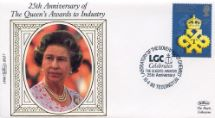 10.04.1990 Queen's Awards to Industry H M The Queen Benham, 1990 Small Silk No.27