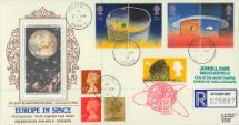 23.04.1991 Europe in Space The Earth from the Moon Pres. Philatelic Services, Cigarette Card No.32