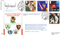 11.06.1991 Student Games/Rugby Cup Salute to England's Grand Slam 1991 Forces, RFDC No.94