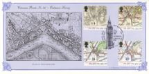 17.09.1991 Maps - Ordnance Survey Plan of Westminster Bradbury, Victorian Print No.62