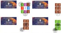 27.10.1992 PSB: Tolkien Centenary Tolkien Emblem - Sets of Four Royal Mail/Post Office