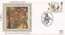 09.11.1993 Christmas 1993 Bob Crachit Benham, 1993 Small Silk No.51