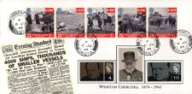 06.06.1994 D-Day 50th Anniversary Churchill cds Bradbury