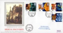 27.09.1994 Medical Discoveries The Travelling Doctor Pres. Philatelic Services, Sotheby Silk No.99