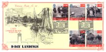 06.06.1994 D-Day 50th Anniversary Caen Harbour Bradbury, Victorian Print No.86