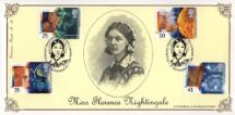 27.09.1994 Medical Discoveries Florence Nightingale Bradbury, Victorian Print No.89