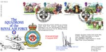 02.08.1994 4 Seasons: Summer Squadrons of the Royal Air Force Forces, RAF FDC No.23