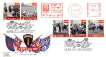 06.06.1994 D-Day 50th Anniversary Meter Marks Royal Mail/Post Office