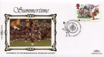 02.08.1994 4 Seasons: Summer Braemar Gathering Benham, 1994 Small Silk No.44