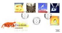 02.05.1995 Peace and Freedom Peace and Freedom Royal Mail/Post Office