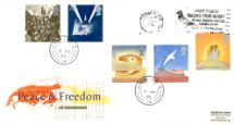 02.05.1995 Peace and Freedom Slogan Postmarks Royal Mail/Post Office