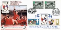 14.05.1996 Football Legends 1966 World Cup Bradbury, LFDC No.141