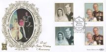 13.11.1997 Golden Wedding The Queen & Prince Philip Benham, Gold (500) No.134