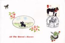 08.07.1997 All the Queen's Horses Show Jumping Hand Painted Covers