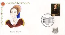 21.01.1997 The Great Tudor Cahterine Howard Hand Painted Covers