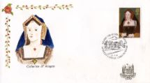 21.01.1997 The Great Tudor Catherine of Aragon Hand Painted Covers