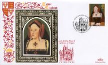 21.01.1997 The Great Tudor Catherine of Aragon Benham, 1997 Small Silk No.2