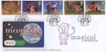 21.07.1998 Magical Worlds Telephone Card Cover Telephone Card Cover