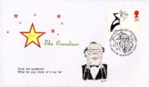 23.04.1998 Comedians Eric Morecambe Hand Painted Covers