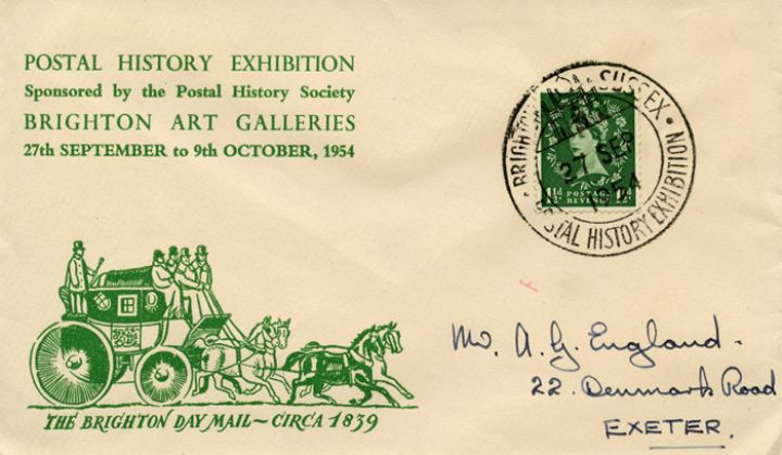 Postal History Exhibition, The Brighton Day Mail