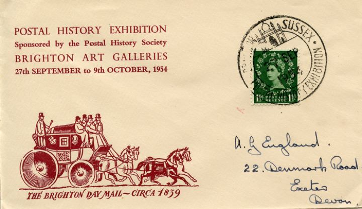 Postal History Exhibition, Mailcoach