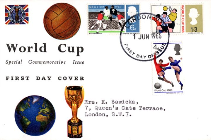 World Cup Football, Jules Rimet Cup