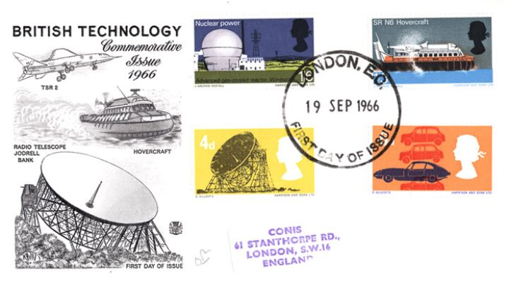 British Technology, Jodrell Bank & Hovercraft