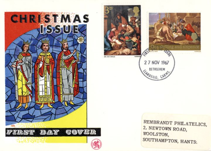 Christmas 1967 (4d), The Three Kings