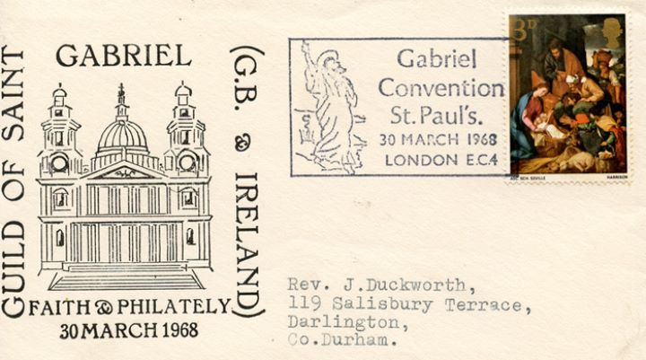Christmas 1967 (3d & 1/6d), Guild of Saint Gabriel