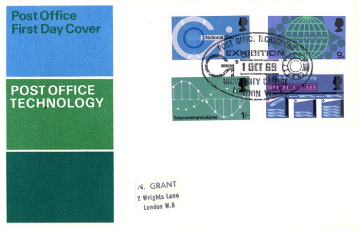 Post Office Technology, Post Office FDC